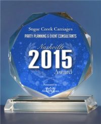 Award Given to Sugar Creek Carriages